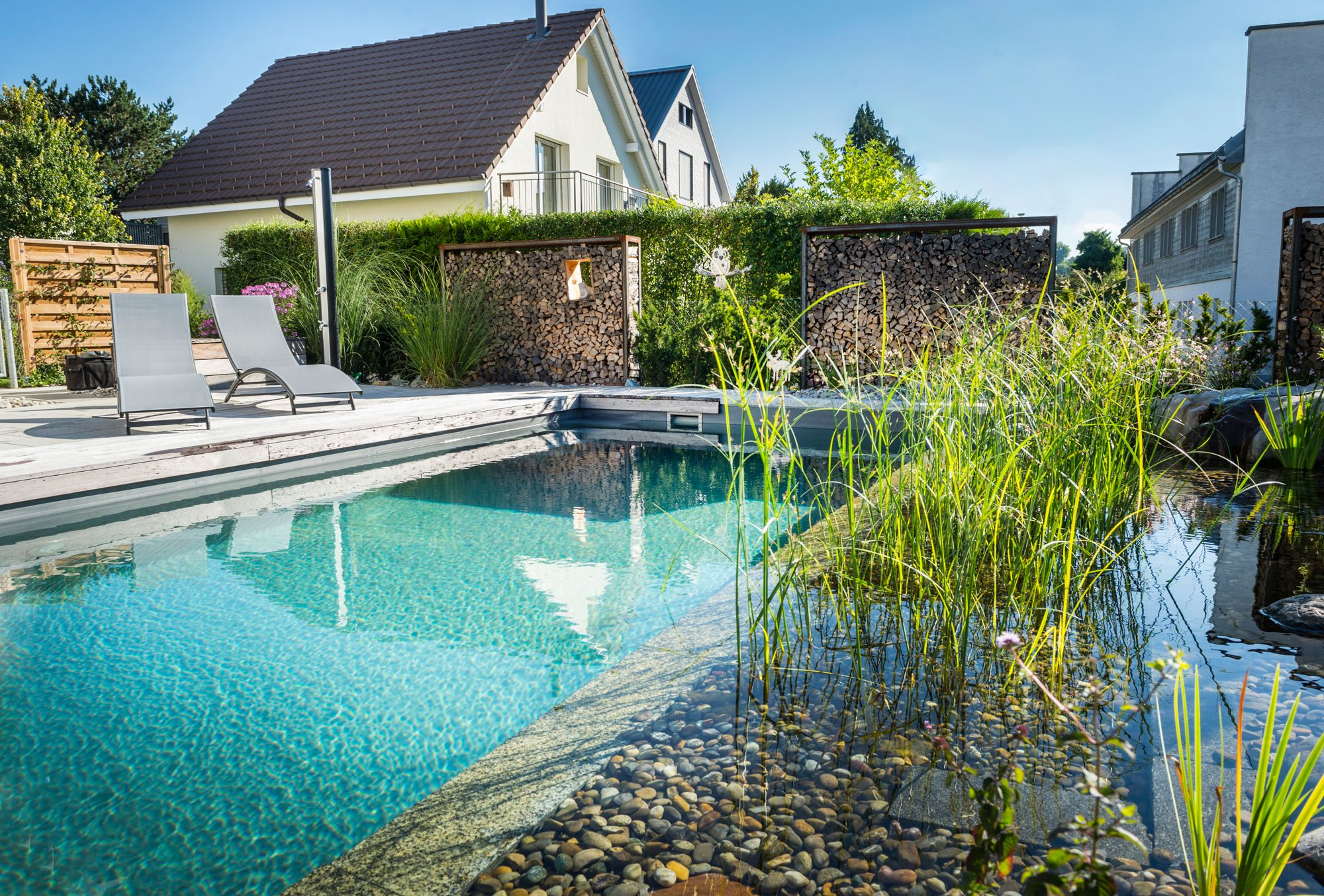 Schwimmteich Ossingen